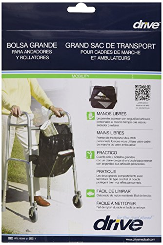 Drive Medical Front Walker Nylon Carry Pouch by Drive Medical (Image #2)
