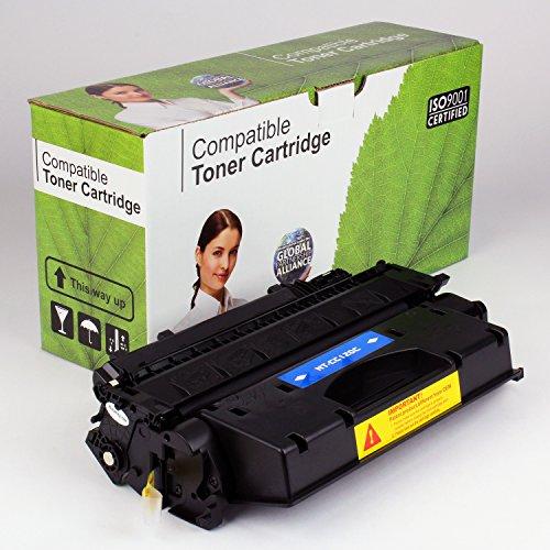 CompatiblePlus Toner Cartridge Replacement for Canon C120, Black, 5K -