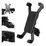 ROCKBROS Universal Adjustable Cell Bike Phone Mount Holder Cradle (Black) for Motorcycle / Bicycle Handlebar, iPhone 5/5S/6/6S Plus, Samsung Galaxy S4/S5/S6/S7 CS288