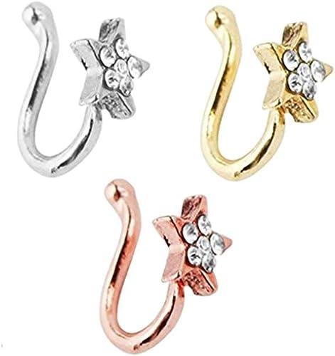 GOTH Nose Septum Ring Hot Hoop Rings Nose Studs Piercings Cute Punk Body Jewelry