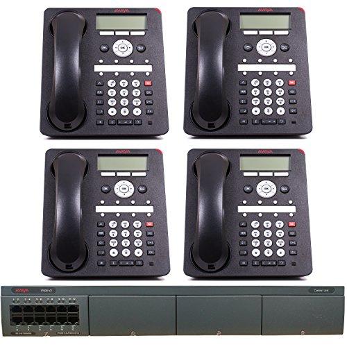 Avaya IP Office Phone System: Basic Digital Edition - 1 Year of Dialtone (4 Phone Bundle) ()