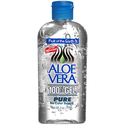 Fruit Of The Earth New Aloe Vera 100% Pure Gel 4 oz. / 113g