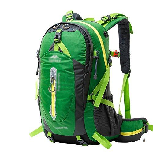 HWLXBB Outdoor Bergsteigen Tasche 40L Anti-Spritzwasser Wasser Licht Reise Bergsteigen Rucksack Männer und Frauen Walking Bergsteigen Tasche ( Farbe : 7* , größe : 40L )