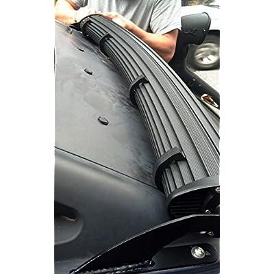 OffroadGorilla.com LED Light Bar Silencers Resonance Damper, Set of 4: Automotive