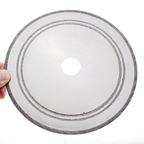 Saw Blade Diamond Edge (ILOVETOOL 7 inch Thin Edge Wet Diamond Blade Disc Lapidary Saw Gemstone)