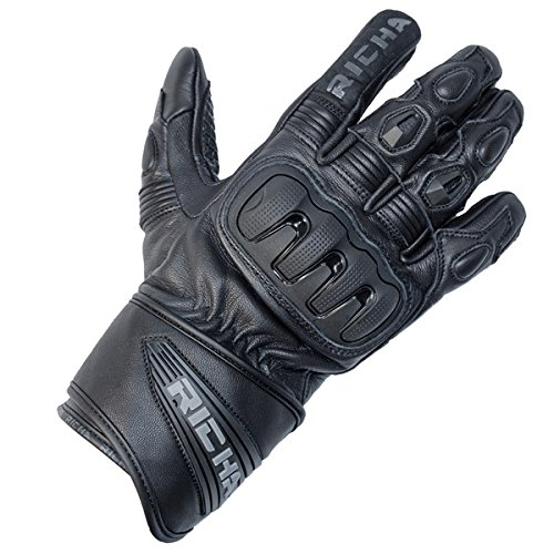 Short Cuff Motorcycle Gloves - 8