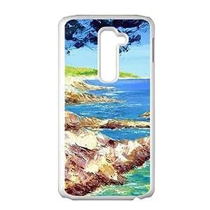 Beautiful seashore scenery Phone Case for LG G2