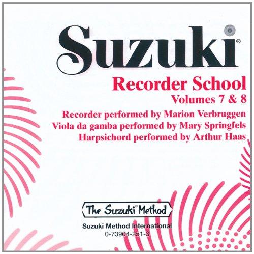 Read Online Suzuki Recorder School (Soprano and Alto Recorder), Vol 7 & 8 pdf