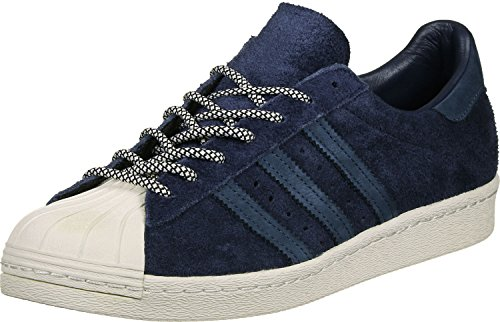 Adidas Superstar Navy blue chalk 80s Scarpa dZr7d