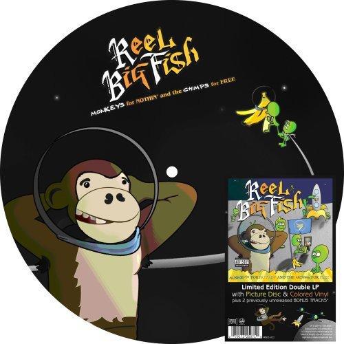 Vinilo : Reel Big Fish - Monkeys For Nothin (LP Vinyl)