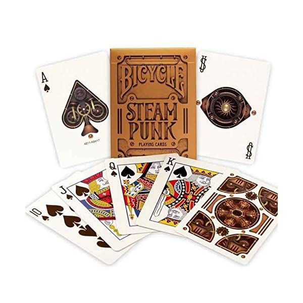 Bicycle Bronze Steampunk Playing Card Deck 5