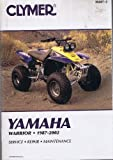img - for Clymer Yamaha Warrior, 1987-2002 (Clymer Motorcycle Repair) book / textbook / text book