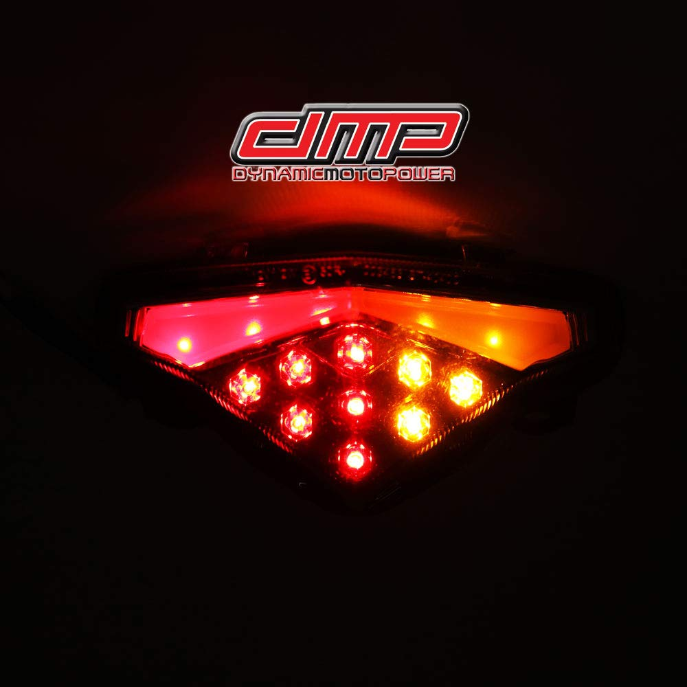 DMP 2012-2016 Kawasaki Ninja 650 Clear Integrated LED Tail Light - 905-4569
