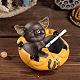Ceramic purple sand tea pet ornaments creative sex fun pig ashtray