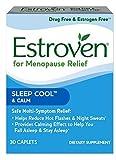 Estroven SLEEP COOLTM + CALM | Menopause Relief Dietary Supplement MegaPACK 4Pack (30Caplets)-JWS-Estroven