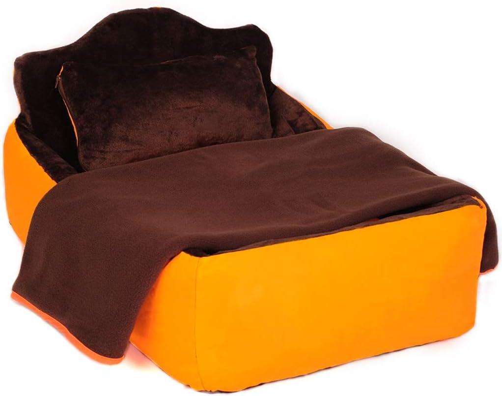 ペット犬用ベッド - 柔らかい冬のマットレスペット用ベッド犬&猫用睡眠 - 睡眠用マットレスデラックスソファマットレス用ヘッドサポート ペットベッド (Size : XL)