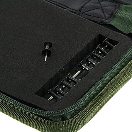 Rig Wallet f/ür viele verschiedene Vorf/ächer bis 50cm Vorfachmappe