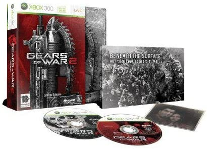 Microsoft Gears of War 2 Limited Edition, Xbox 360, BE - Juego (Xbox 360, BE, Xbox 360, Shooter, M (Maduro)): Amazon.es: Videojuegos
