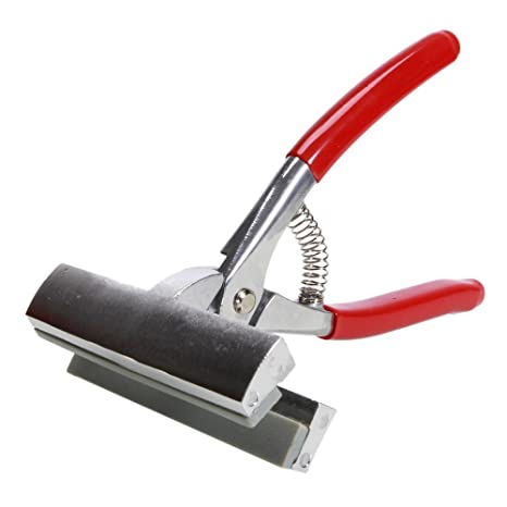 """Olymstore (TM) ancho 4.72 """"rojo mango de estiramiento lienzo alicates herramienta de"""