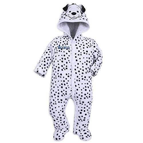 Disney Lucky Hooded Romper - 101 Dalmatians Size 12-18 MO Multi