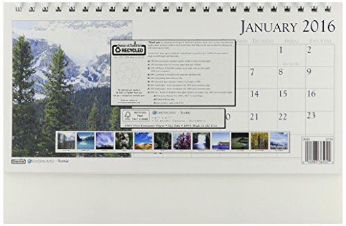 (House of Doolittle 2016 Monthly Desktop Tent Calendar, 8.5