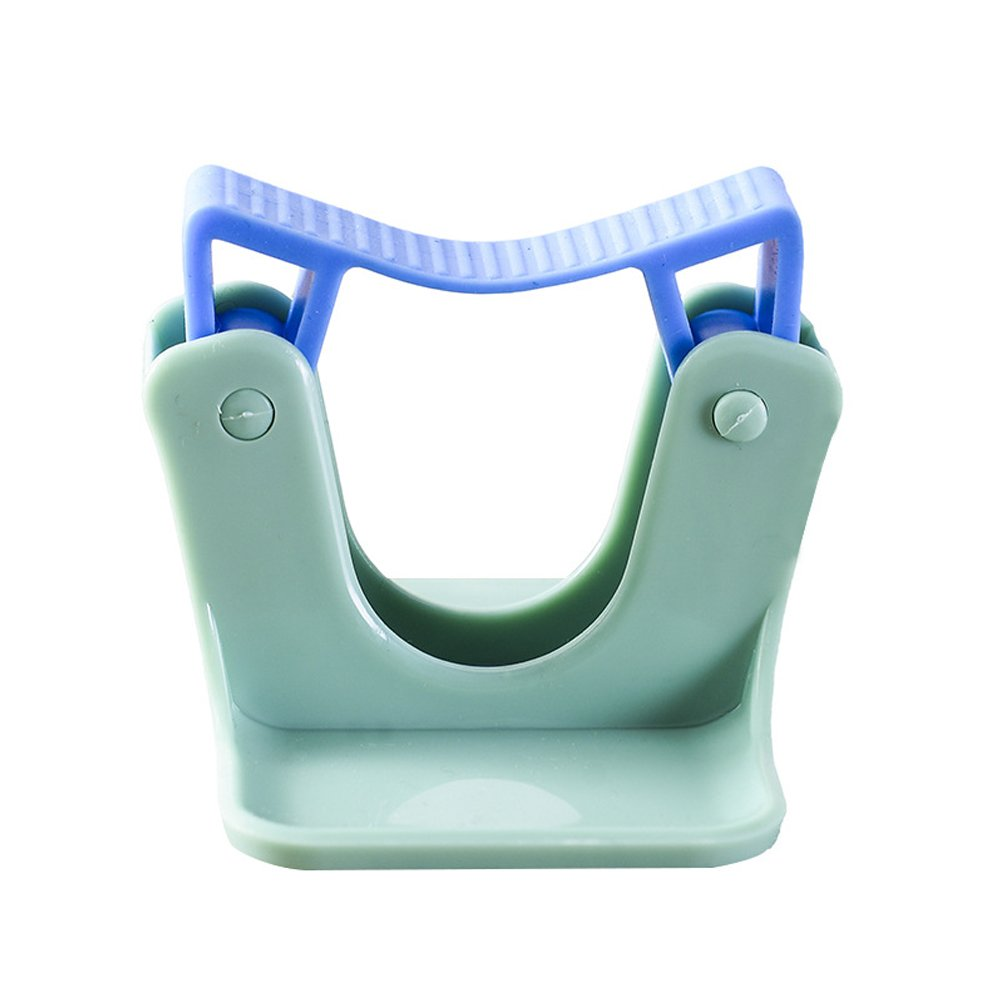 Merssavo 2pcs/lot Home Clip Mop Hooks No Trace Mop Holder Bathroom Rack