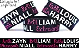 Amazayn Fabulouis Phenomeniall Brilliam Extraordinharry One Direction Wristband