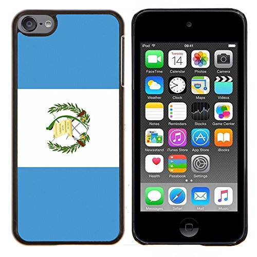 (STPlus Guatemala Guatemalan Flag Hard Cover Case for Apple iPod Touch 6)