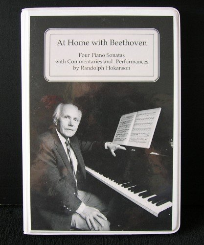 At Home With Beethoven: Four Piano Sonatas With Commentaries and Performances by Univ of Washington Pr