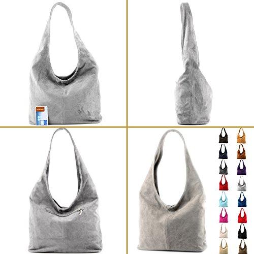Sac Wildleder T150 Damentasche à cuir à de Sac bandoulière Modamoda bandoulière ital Lavendel en x0qPvw7Z