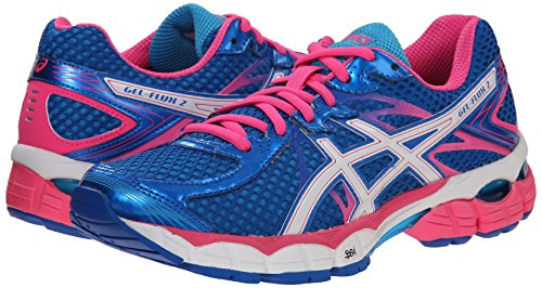 Electric turquioise Blue Flux Running Gel Da 2 38 white Asics Scarpa OqHwZRY