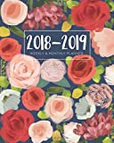 2018-2019 Weekly and Monthly Planner