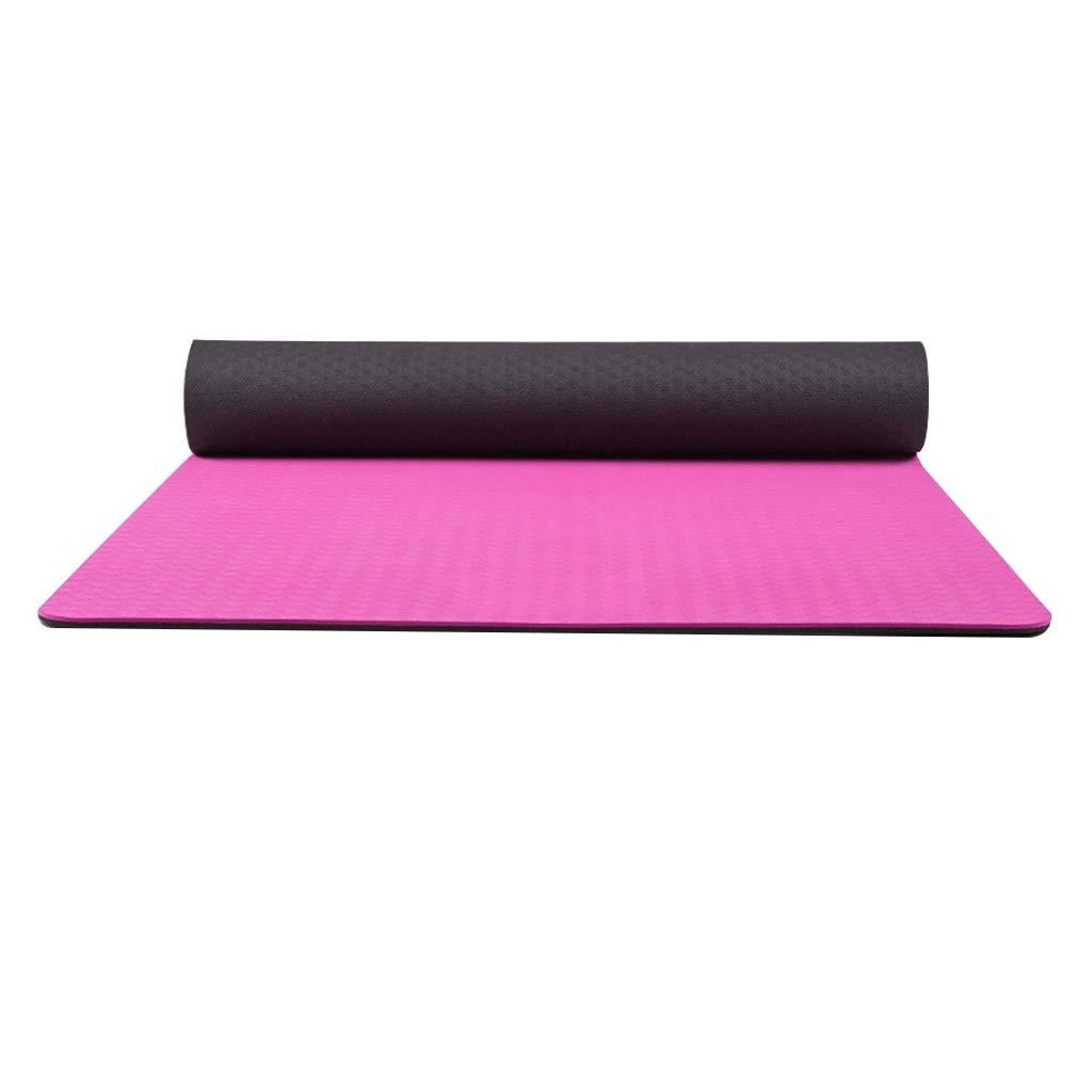 A AJZGF Tapis de Yoga 6mm Extended Fitness Mat 183  71  0.6cm antidérapant écologique Non parfumé Tapis de Danse