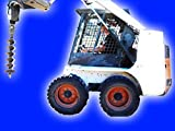 Movie for Kids of a Skid Steer Auger