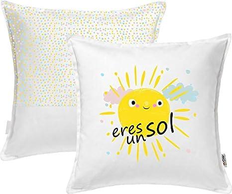 Enkolor Cojines Decorativos Sol. 40X40 cm. con Relleno ...