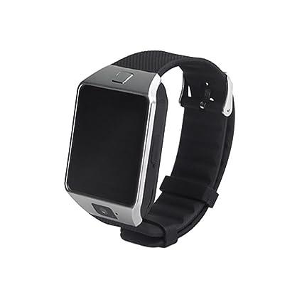 LayOPO DZ09 Smartwatch, Bluetooth Mutifuncional Reloj de Pulsera para Android & iOS Smartphone con Anti-pérdida, cámara, Ranura SIM