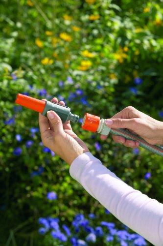 Gardena 9114 Classic Garden Hose Spray Nozzle With Quick Connect
