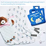 50 Pieces Forehead Thermometer Strips Reusable