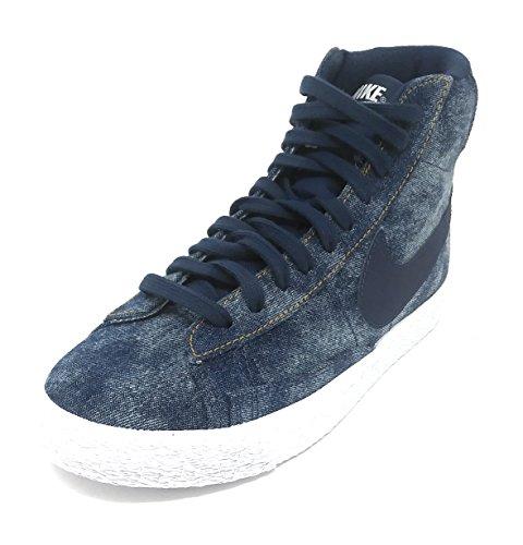 Nike Blazer MID (GS) Midnight Navy/Midnight Navy (Youth Size 5)