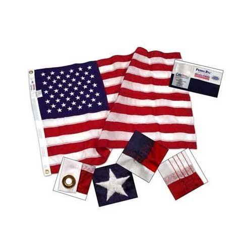2.5ftx4ft Nylon US Flag - Online Stores Brand - Made in - In Us Stores Online