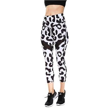 ZCJB Pantalones Yoga Mujer Pantalones Cortos de Yoga ...
