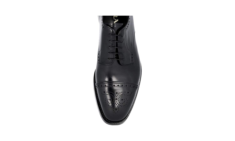 3fa42575dfe Prada Prada Prada Men's 2EA134 Brushed Spazzolato Leather Business ...