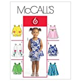 McCall's Patterns M5416 Toddlers' Tops, Dresses and Shorts
