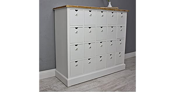 elbmöbel.de - Mueble de farmacia (20 cajones), diseño ...