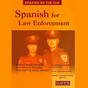 Spanish for Law Enforcement Audiobook