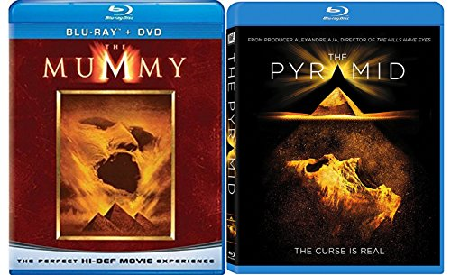 60 Mill Creek Collection (The Egyptian Action Horror Collection: The Mummy & The Pyramid 2-Movie Bundle)