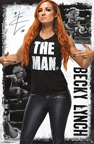 Trends International WWE-Becky Lynch 19 Clip Bundle Wall Poster, 22.375