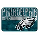 The Northwest Company NFL Philadelphia Eagles Embossed Memory Foam Rug, One Size, Multicolor