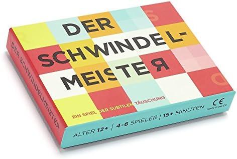 Gamely Games Der Schwindelmeister German Version Of The Pretender A Game Of Subtle Deception Spielzeug