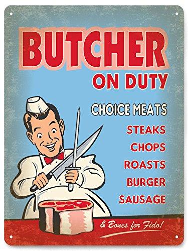 vintage butcher knife - 9